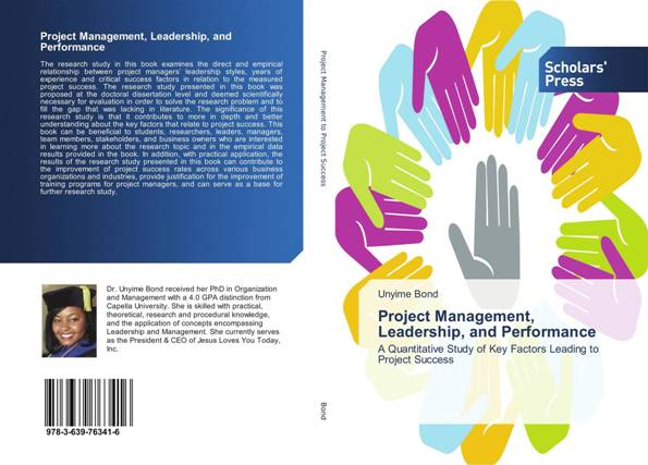 My Project Management, Leadership and Perfomance Book